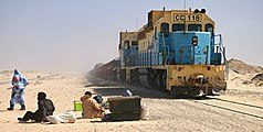 SNIM ore train Nouadhibou.jpg
