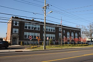 Burlington Township, New Jersey - Springside Public School is listed on the National Register of Historic Places