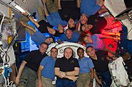 STS-131 & Expedition 23 Group Portrait