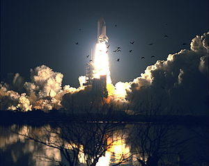 STS-84 - Atlantis lifts off from LC-39A to begin STS-84