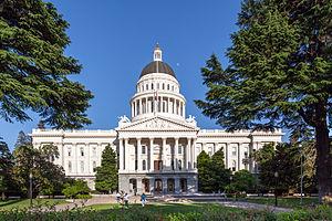 California State Capitol - Image: Sacramento Capitol 2013