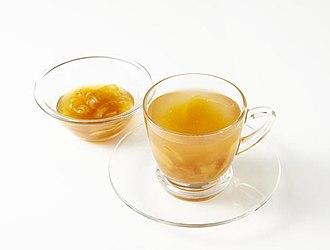 Ginger tea - Image: Saenggang cha 6