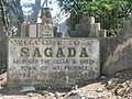 Sagada Town Roadside Marker.JPG