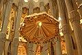 Sagrada Família - Latin cross with canopy - Barcelona - panoramio.jpg