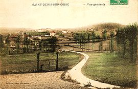 A postcard view of Saint-Denis-sur-Coise, around 1910