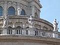 Saint Andrew, Jesus Christ, Saint Peter, Saint Paul, St. Stephen's Basilica, 2016 Budapest.jpg