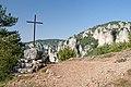 Saint Marcellin - křížek u Les Paillasses.JPG