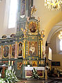 Saint Stanislaus church in Bodzentyn - Altar - 03.jpg