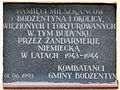 Saint Stanislaus church in Bodzentyn - Memorial plaques and plates - 08.jpg