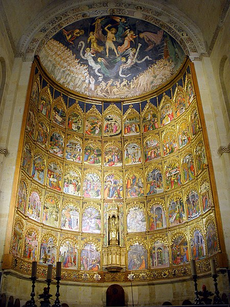 File:Salamanca - Catedral Vieja, interior 20.jpg