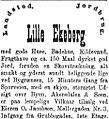 Salgsannonse for Lille Ekeberg Aftenposten 1883.jpg