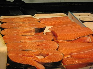 Salmon as food - Image: Salmon Fish