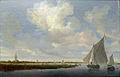 Salomon van Ruysdael (7)Segelboote a Wijkermeer.JPG