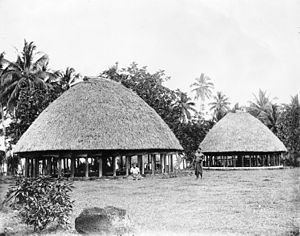 Fa'amatai - The architecture of Samoa dictate seating areas for matai and orators according to their status, rank, role and ceremony.
