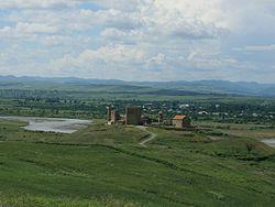 Samtsevrisi monastery complex. A general view (Photo A. Muhranoff, 2011).jpg