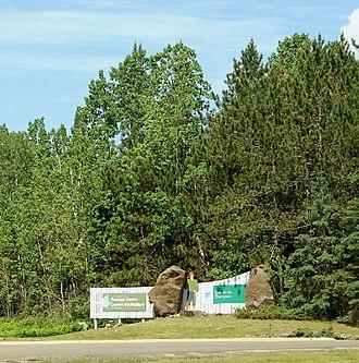 Samuel de Champlain Provincial Park - Image: Samuel Champlain PP