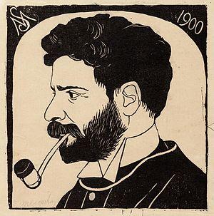 Samuel Jessurun de Mesquita - Self-portrait, 1900