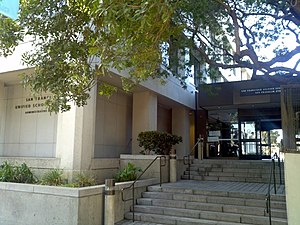 San Francisco Unified School District - San Francisco Unified School District Administrative Building at 555 Franklin Street.