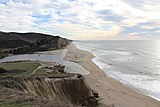 View of San Gregorio State Beach