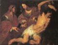 San Sebastiano curato da santa Irene - O. De Ferrari.png