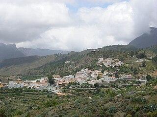 San Bartolomé de Tirajana Municipality in Canary Islands, Spain