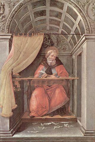 Боттичелли. «Св. Августин»