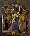 Sano di Pietro Madonna col Bambino e i santi Benedetto, Cirino, Donato e Giustina.jpg