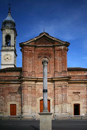 Bereguardo - Image: Sant'Antonio abate Bereguardo