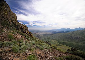 Humboldt County, Nevada - Santa Rosa Range, Humboldt National Forest.