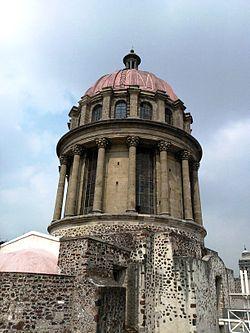 Iglesia de santa teresa la antigua wikipedia la for Santa teresita planta