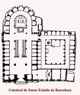 Catedral de la Santa Cruz y Santa Eulalia de Barcelona  Wikipedia