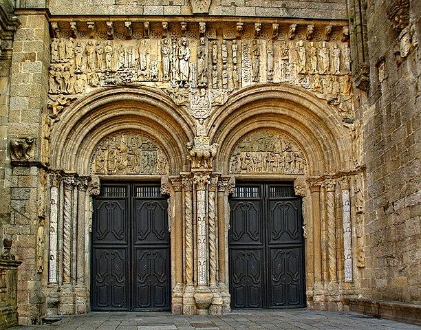 File santiagocompostela portaplaterias wikimedia commons - Santiago de compostela arquitectura ...