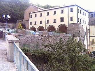 Roccamonfina - Sanctuary of the Lattani.