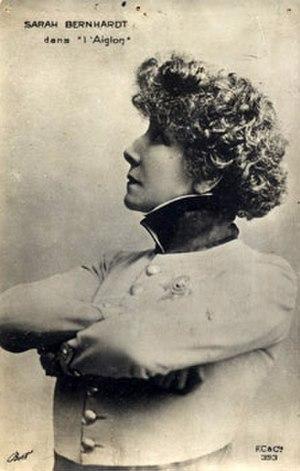 L'Aiglon - Sarah Bernhardt as L'Aiglon