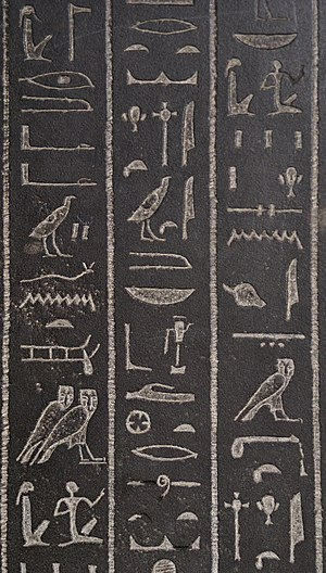 Hill-country (hieroglyph) - Image: Sarcophagus of Ankhnesneferibre