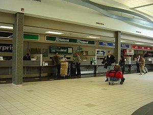 National Car Rental - Airport Counter at YXE