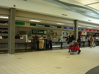 National Car Rental - Airport Counter at YXE