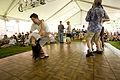 Satchmo SummerFest 2012 Cornet Chop Suey Stage Harmonouche dance floor 3.jpg