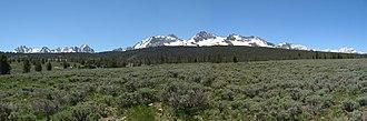 Sawtooth National Recreation Area - Sawtooth Mountains