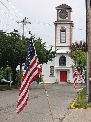 Saxonburg, Pennsylvania - Saxonburg Memorial Church