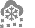Scattered snow icon iOS.png