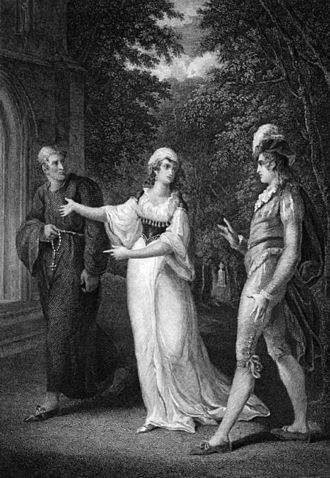 Olivia (Twelfth Night) - A Priest, Olivia, and Sebastian