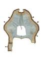 Schabrak av ljusblått siden, 1777 - Livrustkammaren - 107019.tif