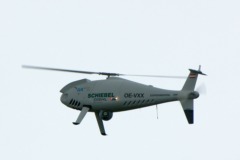 Schiebel Camcopter S-100 at ILA 2010