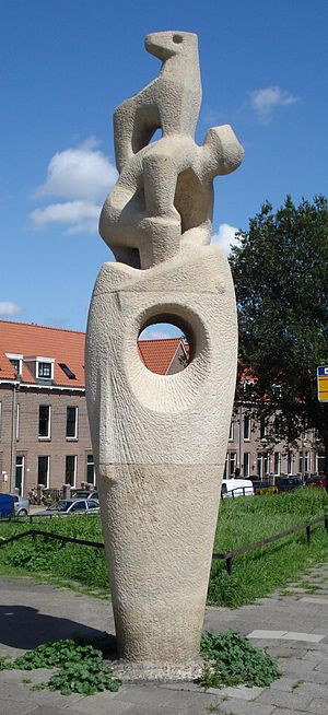 Nederlands: Schiedam, Spuisluis/Havendijk. Kun...