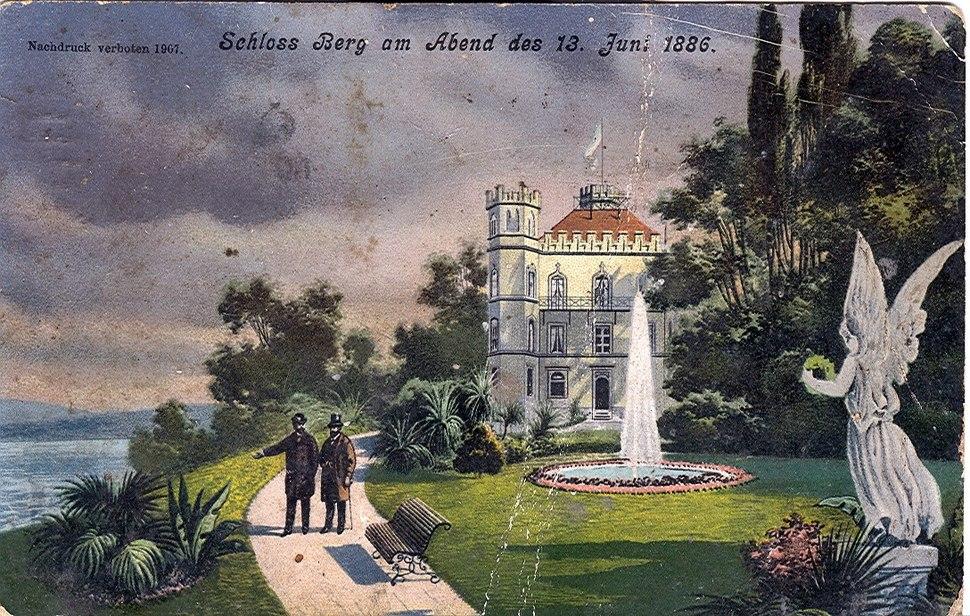 Schloss Berg - Postcard
