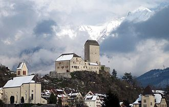 Sargans - Image: Schloss Sargans