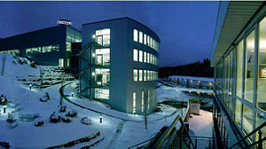 Glatten - Schmalz Firmengelände Winter