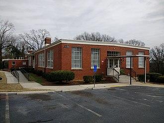 Schoolfield School Complex - Image: Schoolfield School Complex Building B 2
