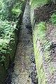 Schwarzenberský plavební kanál, koryto za dolním portálem tunelu.jpg